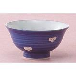 藍花 飯椀 青・ぞう 径10.5×高5.5cm