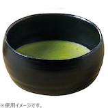 藍花 抹茶碗 530mL 16159 黒│茶器・コーヒー用品 その他 茶器・コーヒー用品