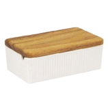 ViV バターケース 26251 白│調味料入れ・卓上小物 バターケース