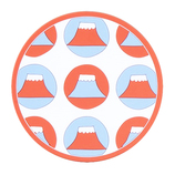 ViV 富士山コースター 59230 ドット レッド