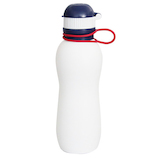ViV(ヴィヴ) シリコーンボトル アクティブ 500mL ホワイト│水筒・魔法瓶 水筒