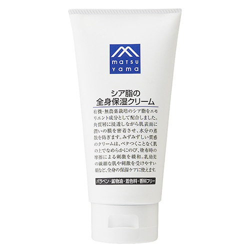 松山油脂 Mマーク シア脂の全身保湿クリーム 170g