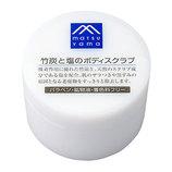 松山油脂 Mマーク 竹炭と塩のボディスクラブ 140g