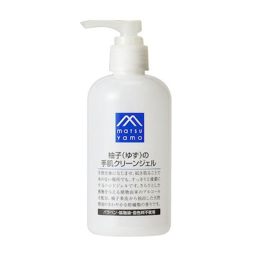 松山油脂 Mマーク 柚子の手肌クリーンジェル 240mL