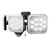 ムサシ RITEX フリーアーム式LEDセンサーライト LED-AC3036