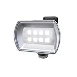 ムサシ RITEX 4.5W ワイド フリーアーム式 LED乾電池センサーライト LED-150│防犯センサー 防犯カメラ・センサーライト