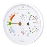 クレセル 健康管理目安計 温湿度計 TF-165W