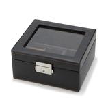 メンズボックス M 240-575BK ブラック│収納・クローゼット用品 コレクションケース・ジュエリーボックス