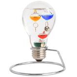 茶谷産業 Fun Science ガラスフロート温度計 333‐208 電球型