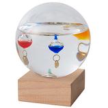 茶谷産業 Fun Science ガラスフロート温度計 333−209 ドーム S