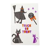 ジグ KIDSシール 4283 魔女と黒猫