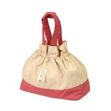 サブヒロモリ コンフェ 巾着バッグ レッド