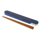 サブヒロモリ アロン 箸&ケース ブルー