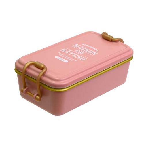 サブヒロモリ ブランシュクレ タイトランチ 1段 ピンク