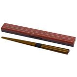 サブヒロモリ ギン・サイ 箸&箸箱 レッド