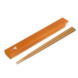 サブヒロモリ 百福 箸&箸箱 ナチュラルチドリ
