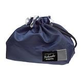 サブヒロモリ フォルトナ コーティングランチ巾着 248610 ネイビー