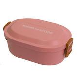 サブヒロモリ ブランシュクレ シリコンバックルランチ1段 530mL 250422 ピンク