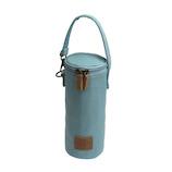 サブヒロモリ チアーズフェス キャンバスボトルケース ミント│水筒・魔法瓶 ペットボトルカバー