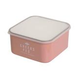 サブヒロモリ チアーズフェス フードコンテナスクエア L 550mL ピンク│お弁当箱 弁当箱