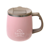 サブヒロモリ ソルベ ステンレスサーモ マグカップ ピンク