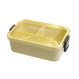 サブヒロモリ グーテン 抗菌シリコンバックルランチ 1段 580mL ベージュ│お弁当箱 弁当箱