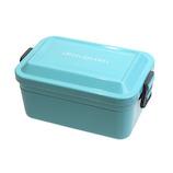 サブヒロモリ グーテン 抗菌シリコンバックルランチ 2段 720mL みずいろ│お弁当箱 弁当箱