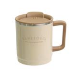 サブヒロモリ チルタイム ステンレスサーモマグカップ 400mL アイボリー│食器・カトラリー マグカップ・コーヒーカップ