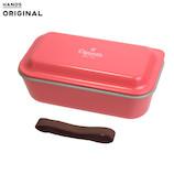 東急ハンズオリジナル 汚れがつきにくいランチBOX1段 520mL ピンク│お弁当箱 弁当箱
