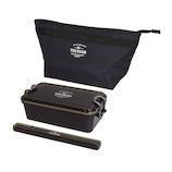 サブヒロモリ トルヴ スターターセット メンズ 850mL ブラック│お弁当箱 お弁当袋・ランチベルト