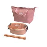 サブヒロモリ トルヴ スターターセット レディース 580mL ピンク│お弁当箱 お弁当袋・ランチベルト