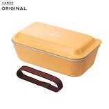 東急ハンズオリジナル 汚れがつきにくいランチBOX1段 520mL オレンジ│お弁当箱 弁当箱