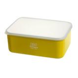 サブヒロモリ オーレ 抗菌フードコンテナ L 870mL イエロー│保存容器 タッパー