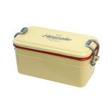 サブヒロモリ ミコノスデュオ 抗菌タイトランチ2段 725mL ベージュ│お弁当箱 弁当箱