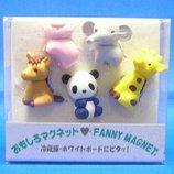 東京画鋲 オモシロマグネット CCー607マク 動物