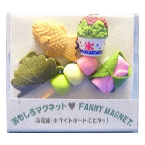 東京画鋲 オモシロマグネット CCー610マク 和菓子