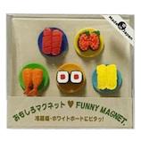 東京画鋲 オモシロマグネット CC-616マク 回転寿司