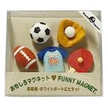 東京画鋲 オモシロマグネット CC-621マク スポーツ