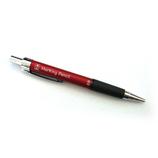 たくみ ノック式鉛筆2.0 No.7784 赤│左官道具 墨つぼ・下げ振り