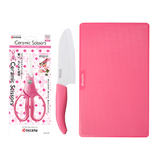 京セラ(KYOCERA) 包丁&キッチンバサミギフトセット ピンク