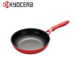 京セラ(KYOCERA) セラフォートイタメナベ 28cm CFF28FABRD 黒/赤