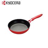 京セラ(KYOCERA) セラフォートフライパン 26cm CFF26ABRD 黒/赤│フライパン・中華鍋 アルミ・鉄製フライパン