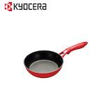 京セラ(KYOCERA) セラフォートフライパン 20cm CFF20ABRD 黒/赤│フライパン・中華鍋 アルミ・鉄製フライパン