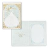 ホールマーク(Hallmark) 結婚お祝いカード 558536 ブルードレス