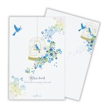 ホールマーク 葉書箋 青い鳥 629809