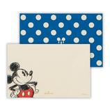 ホールマーク ミニメッセージカード ディズニー 両面ミッキードット650346│レターセット・便箋 一筆箋