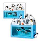 ホールマーク 暑中サマーグリーティングカード立体水族館ペンギン2 671051