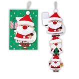 【クリスマス】ホールマーク クリスマスカード 立体 ファーサンタ3 675875