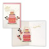 ホールマーク 立体カード ディズニー ケーキ 679941