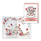 ホールマーク 誕生お祝い立体カード スヌーピー 兄弟とケーキ 680015